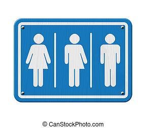 transgender, signe
