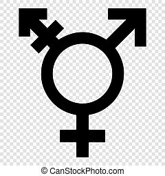 transgender symbol, vector illustration for design