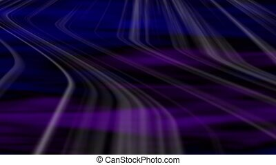 Transit Abstract Loop - Blue-Violet