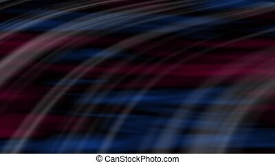 Transit Abstract Loop Burgundy-Blue