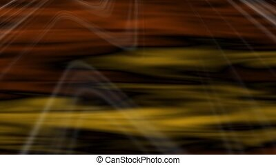 Transit Abstract Loop Orange-Yellow