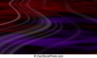 Transit Abstract Loop - Violet-Red