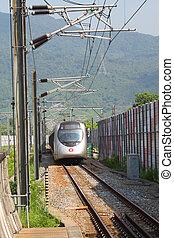 transit, ferroviaire, masse, passagers, (mtr)