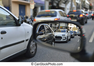 Transit - Photography car congestion in the city - ...