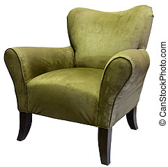 Accent Chair - Transitional Style Occasional Accent Chair...