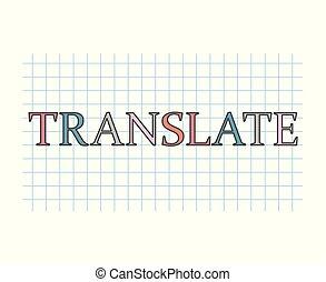 translate concept