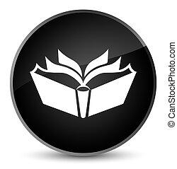 Translation icon elegant black round button
