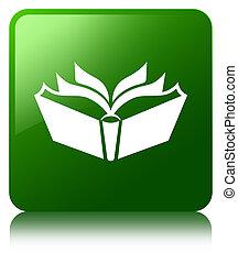 Translation icon green square button