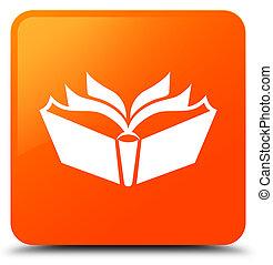 Translation icon orange square button