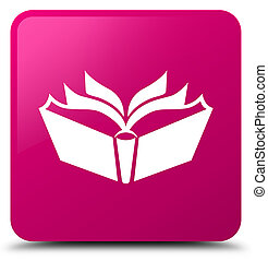 Translation icon pink square button