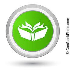 Translation icon prime soft green round button