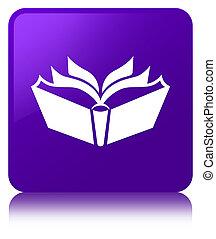 Translation icon purple square button