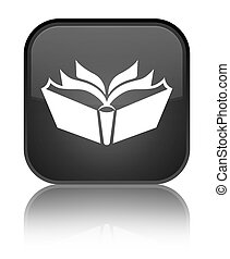 Translation icon special black square button