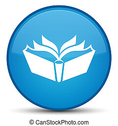 Translation icon special cyan blue round button