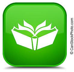 Translation icon special green square button
