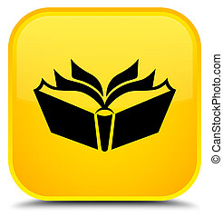 Translation icon special yellow square button