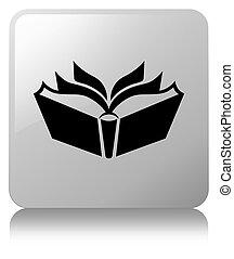 Translation icon white square button