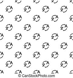 Translation pattern, simple style