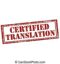 translation-stamp, certificado