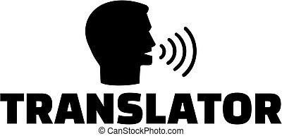 translator, icona