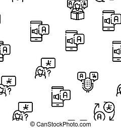 translator, vettore, modello, seamless, interpreter