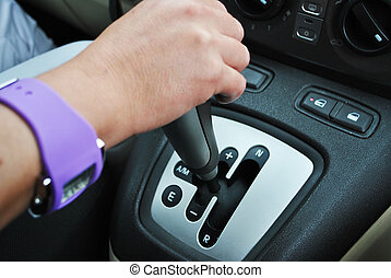 transmisión, automático