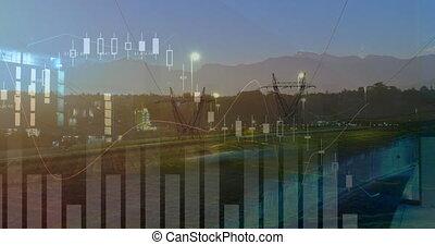 transmisja, 4k, wykresy, wieże, statystyka, szosa