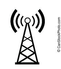 transmisor, icono