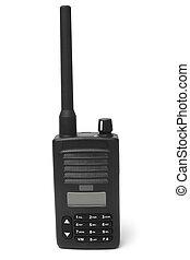 transmisor, radio, portátil