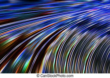 transmissão, dados, rapidamente