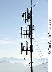 transmissão, facilidade, para, comunicação
