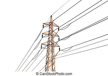 transmissão, linhas