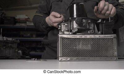 transmission, accumulator, pression, disassembly, automatique, dsg7, remplacement