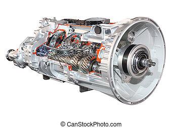 transmission, camion, automatique
