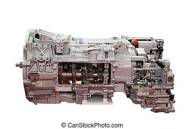 transmission, camion