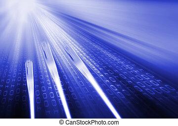transmission, données