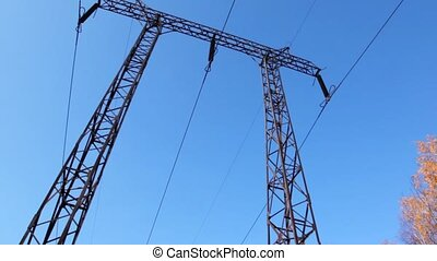 transmission, panoramique, équipement, vertical