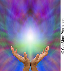 transmitir, distante, curación