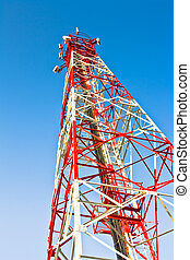 transmitter and receiver antenna telecommunications for...