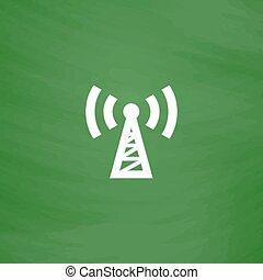 transmitter flat icon