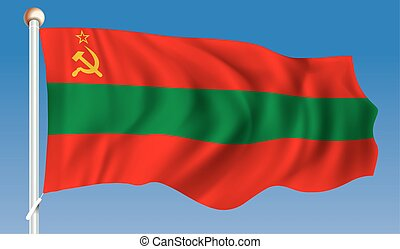 transnistria, drapeau