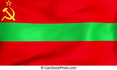 transnistria, fahne