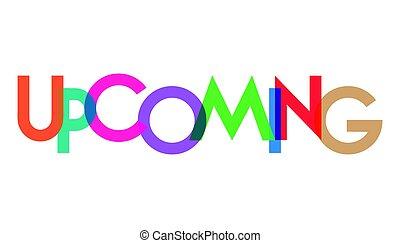 transparant, upcoming, carta, colorido