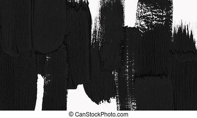 transparence, pinceau, révéler, matte., transition, -, luma