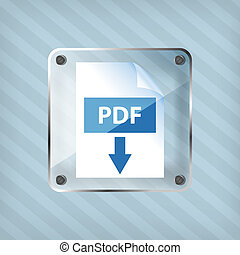 transparency pdf download icon