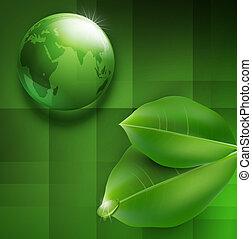 transparent, ball--globe, grön