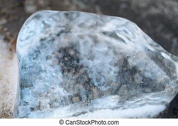 piece of ice