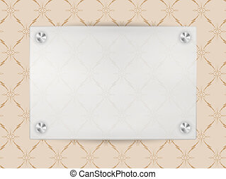 Transparent Blank Frame