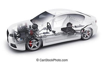 transparent car and interior parts - Transparent car and...