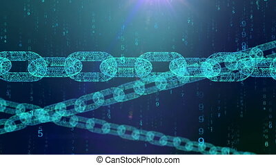 """Transparent chain resists a digital matrix"" - ""A volumetric..."